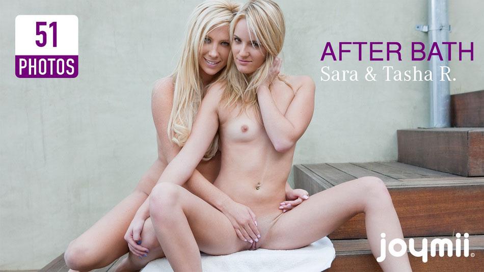 Sara & Tasha R. - After Bath